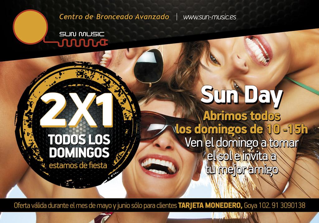Cartel publicitario para SunMusic