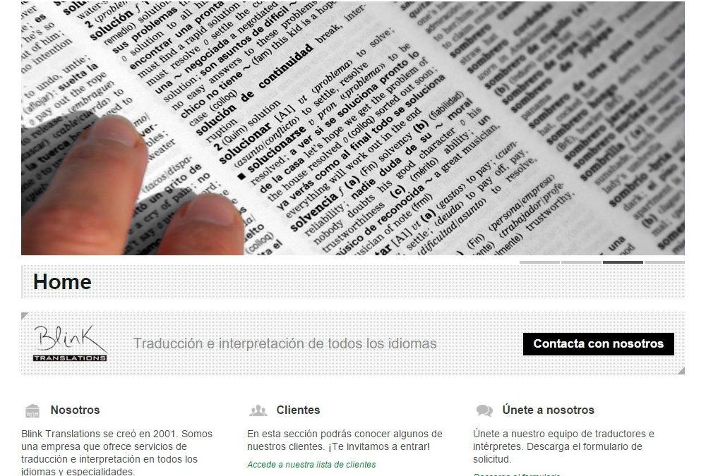 Web Multilenguaje |Blink Translations