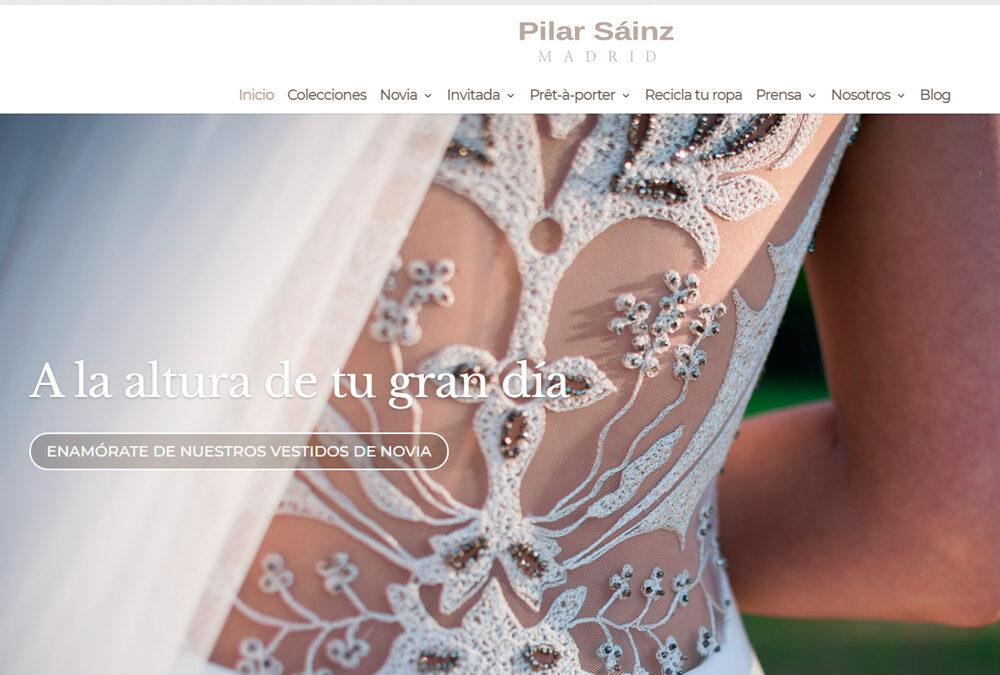 Pilar Sáinz, vestidos de novia, tienda online